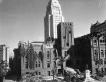 Demolition of the L.A. County Courthouse