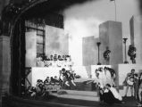 Cast on stage at Pasadena Playhouse
