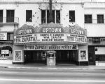 Lobby and marquee of the Uptown Theater