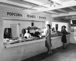 Drive-In theater concession stand