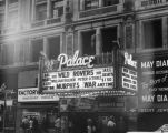 Marquee of Palace Theatre
