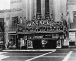 Marquee of Warner Bros. Theater