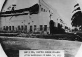Compton Junior College, 1933 earthquake
