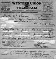 Telegram to Ma Kennedy