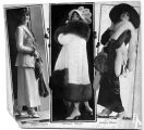 Virginia Rappe, 3 poses