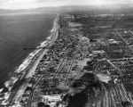 Redondo, Hermosa, and Manhattan Beach aerial view