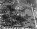 Whittier College aerial