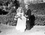 Children dressed as bride and groom, views 5-7