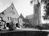 Exterior, Presbyterian Church in Pasadena