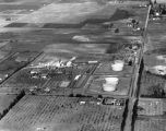 Standard Oil pumping station, aerial