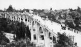 Colorado Street Bridge in earlier days