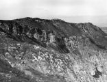 Geological strata in Santa Monica Mountains