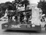 Treaty of Cahuenga, a parade float
