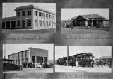 Four Canoga Park buildings, 1914