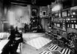 Living room in Lummis' house