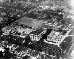 Aerial view of Hollywood High School