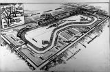 Diagram of proposed automobile racetrack