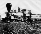 Central Pacific Railroad's locomotive