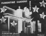 Souvenir photo cover, Florentine Gardens