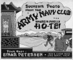 Souvenir photo cover for Army Navy Club