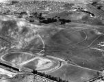 Aerial view of the Ascot Speedway