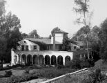 Rear view of Orr Building, Occidental College