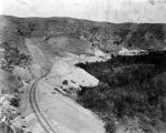 Railroad tracks, Horseshoe Bend