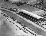 Culver City Racetrack, aerial