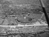Rose Bowl game, aerial view