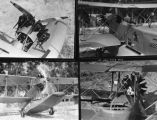 Biplane seaplane, Cal Tech, view 1-4