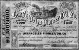 Pioneer Oil Co. stock certificate