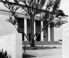 Closeup view of Thorne Hall, Occidental College