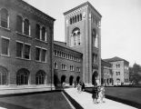 View of Bovard Hall, at U.S.C