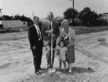Groundbreaking for Mark Twain Branch, view 2