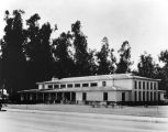 Exterior view, No. Hollywood Branch Library