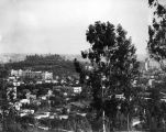 View of Hollywood, 1924