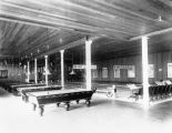 Bowling alley and billiard parlor