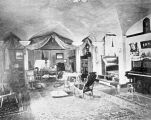 Residence of William B. Tompkins, interior view