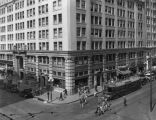 Consolidated Building on Hill & 6th, 1930