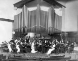 Small orchestra, First Baptist Church