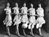 Group of chorus girls, Culver City