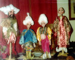 Ali Baba marionettes.