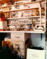 Harry Burnett's puppet workshop at Turnabout House in 1986.
