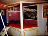 Richard Brandon's circus bedroom at Turnabout Theatre in 1955.