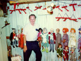 "Harry Burnett and his "" Collector Items--Original H. B. Puppets"" on sale."