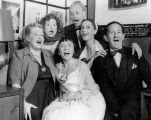 Turnabouters Leota Lane, Elsa Lanchester, Lotte Goslar, Forman Brown, Dorothy Neumann and Harry...