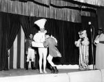 Tommy Turnabout's Circus cast onstage.