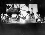 "Carnival scene from the Yale Puppeteers' production, ""The Pie-Eyed Piper,"" which opened..."