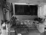 Interior view of the Yale Puppeteers' New York theater from 1936-1938.