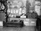 Interior view of the Yale Puppeteers' theater at 135 East 40th Street in New York.